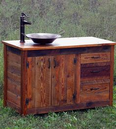 Reclaimed Wood Bathroom Vanity | Home Furniture | The Rusted Nail | Scoutmob Shoppe | Product Detail