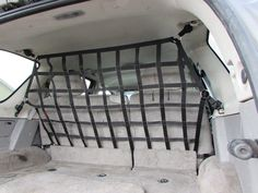 2019 - Newer Chevrolet Traverse Behind Row Seats Rear Barrier Divider Net Saab 9 7x, Dog Barrier, Painted Stools, Gmc Envoy, Chevrolet Trailblazer, Restaurant Chairs For Sale, Buick Enclave, Chevrolet Traverse