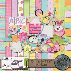 Designer Darling Digifree Kit!!  Plus bonus Freebies!!!