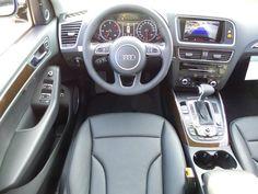 New 2016 Audi Q5 interior shot. AUTO For Sale near St. Louis, MO… Audi Interior, Future Car, St Louis, Dream Cars, Automobile, Interiors, Board, House, Beautiful