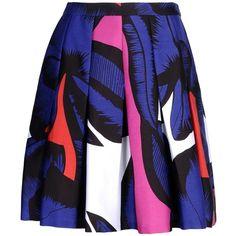 Diane Von Furstenberg Knee Length Skirt ($230) ❤ liked on Polyvore