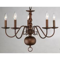 $99.00 @ Home Depot.   Light Williamsburg Chandelier Antique Bronze Finish
