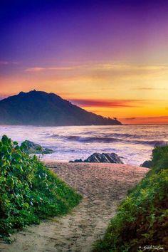 Praia do Coco - Bal Camboriú, Brasil