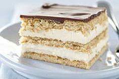 Easy Chocolate Eclair Squares