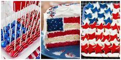 American Flag Recipes - Fourth of July Recipes