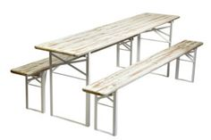Beer Garden Table And Bench Set