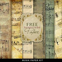 Freebies Music Paper                                                       …
