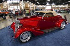 https://flic.kr/p/HfZVTM | 1934 Ford 'Candy Apple' | Northwest Rodarama