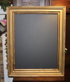 large vintage magnetic antique style gold chalkboard weddingshomerestaurants 26 x 31 34 inches