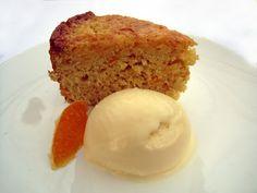 Cupcake Muffin: Gourmet Unbound: Tangerine Cake with Fennel Ice Cream