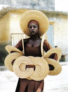 "Africa | ""Fashion in Dakar"" | © Sibylle Bergemann"