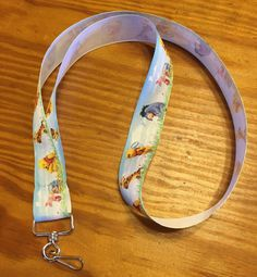 Eeyore Tigger Piglet and Winnie the Pooh ID clip Lanyard or clip to your cell phone or keys Eeyore, Tigger, Disney Lanyard, Etsy Store, Winnie The Pooh, Keys, Give It To Me, Personalized Items, Phone