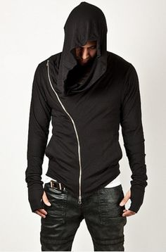 Mission Ready: Stealth Hoodie Cotton, Polyester Blend Lightweight Agile Material Hand Socket Please allow 1 - 3 cm size variance as a result of manual mea