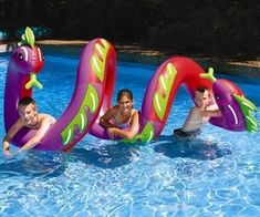 Curly Serpent Inflatable