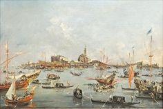 Le doge de Venise sur le Bucentaure (musée du Louvre, Paris)