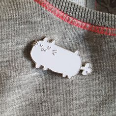 Farty Hamster Enamel Pin by StinkyInkyShop on Etsy
