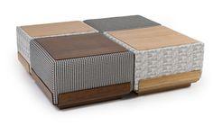 Chu, Puff ou Mesa? Chu é um híbrido de puff e mesa, que com a infinidade de estampas, cores ou texturas, cria infinitas combinações. Assinada por Rejane Carvalho Leite.