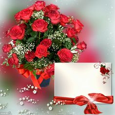 ThatsMimi's Dating, Romance and Love Frames - 2016 - 2016 Happy Birthday Frame, Happy Birthday Flower, Birthday Frames, Background Images Wallpapers, Pretty Wallpapers, Beautiful Roses, Pretty Flowers, Valentines Frames, Creative Flower Arrangements