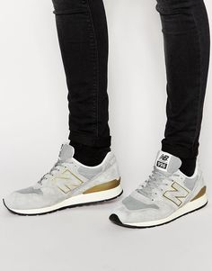 Trainers by New Balance Mesh with suede overlays Lace-up fastening Signature branding Padded cuff and tongue Textured tread Treat with a leather protector 50% Other Materials, 50% Real Leather Upper