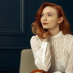 Eleanor Tomlinson for Karen Millen Campaign 2016