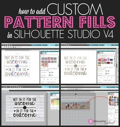 How to Add Custom Pattern Fills in Silhouette Studio - silhouette studio, silhouette design studio, silhouette studio tutorials, how to use silhouette, Si - Silhouette Projects, Silhouette School Blog, Silhouette Design Studio, Silhouette Cameo Tutorials, Silhouette Curio, Silhouette Vinyl, Silhouette Studio Designer Edition, Silhouette Portrait, Silhouette Machine
