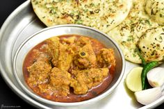 Dhaba-style Punjabi chicken curry is a tasty & easy chicken recipe that tastes great with naan. It has juicy bit of chicken simmered in a ambrosial broth.