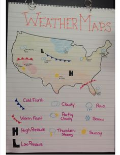 weather maps anchor chart