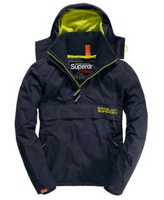 Superdry Arctic Wind Cagoule - Men's Jackets: Might be priced right for quality and performance.