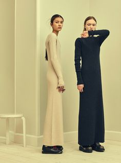 Ribbed maxi lengths. #thenewandthenow #outfit #style