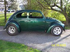 Green v8 beetle