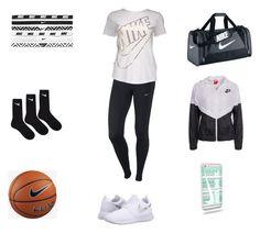 """Nike"" by fashionrandom ❤ liked on Polyvore featuring NIKE"