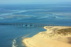 Bonner Bridge in the Outer Banks. #nc12 #obx