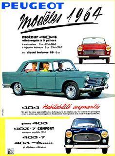Peugeot 1964