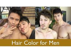 Hair Color for Men using @schwarzkopfpro Color 10