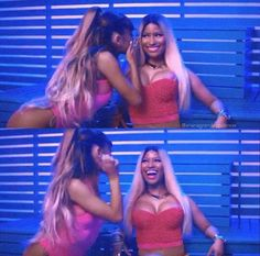 ARIANA GRANDE AND NICKI MINAJ SIDE TO SIDE #VIDEOTEASER #KIMILOVEE #THEWIFE PLEASE DON'T CHANGE MY CAPTIONS OR YOU'LL BE BLOCKED!