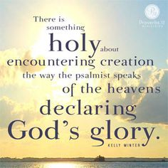 """""""There is something holy about encountering creation the way the psalmist speaks of the heavens declaring God's glory."""" - Kelly Minter // It's easy and exhausting to believe everything depends on us. CLICK to read Kelly's devotion where she shares truth about God's provision learned in the Amazon jungle."""