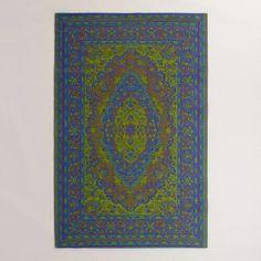 One of my favorite discoveries at WorldMarket.com: Multicolor Urban Floor Mat