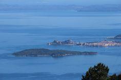 Corfu Town from Mount Pantokrator