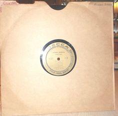 Andres Segovia Guitar Solos LP 33 RPMDecca Record Quintetto Chigiano Gold Label…