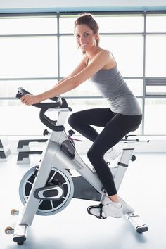 All you need is an open exercise bike at the gym and our playlist!
