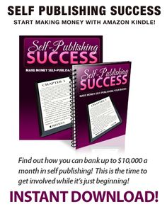This tutorial package offers 3 unique guides, all focusing on making money within the Amazon Kindle marketplace.    The first guide offers step by step instructions on submitting your books for publication and reveals extended tips and techniques for boosting your revenue.    Our auxiliary components offer additional information, including proven strategies to maximizing profits and exposure!