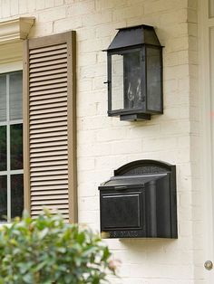 Address numbers, mailboxes, locksets, and porch lights are perfect upgrades. These elements are small but add a lot of finesse to your look. Keep the finishes consistent so the pieces look like an ensemble of accessories, not a batch of mismatched hardware.