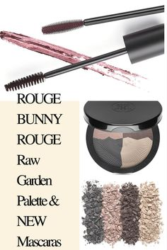 Rouge Bunny Rouge launches Raw Garden Eyeshadow Palette and two new shades for Modelling Mascara and Magnitude Mascara. Click the photo to read more details until my reviews will be ready! via @Chicprofile