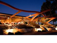 This is my top winery to visit in Paso Robles. Denner Vineyards's architecture looks amazing!