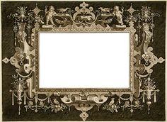 Vintage Frame - Label ~ Zibi Vintage Scrap