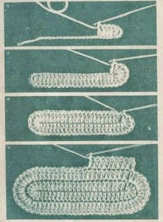 "Como tejer patucos ""Conejitos"" al crochet paso a paso DIY Knitting TechniquesKnitting HatCrochet BlanketCrochet Bag Crochet Sole, Crochet Slipper Pattern, Crochet Baby Booties, Crochet Slippers, Free Crochet, Crochet Handbags, Crochet Purses, Crochet Hats, Chunky Crochet"