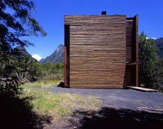 Completed in 1997 in El Ranco Province, Chile. Images by Guy Wenborne. The purpose of this house is to build a family gathering place that could host during one month up to eight families concurrently or receive a single. Chile, Villa, Facade Architecture, Guy, Habitats, Tall Cabinet Storage, Exterior, Gallery, Building