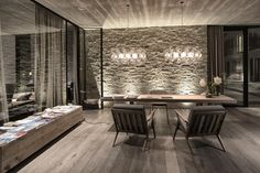 Practice Gogl & Partners Architekten have reconstructed and redesigned the whole Wiesergut Hotel located in the valley of Hinterglemm, Austria. Hotel Lobby Design, Boutique Hotels, Hotel Interiors, Office Interiors, Hotel Sheets, Hotel Lounge, Relax, Apartment Design, Interior Design Inspiration