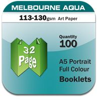 Portrait Full Colour Booklets printing