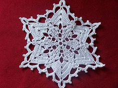 crochet star/snowflake